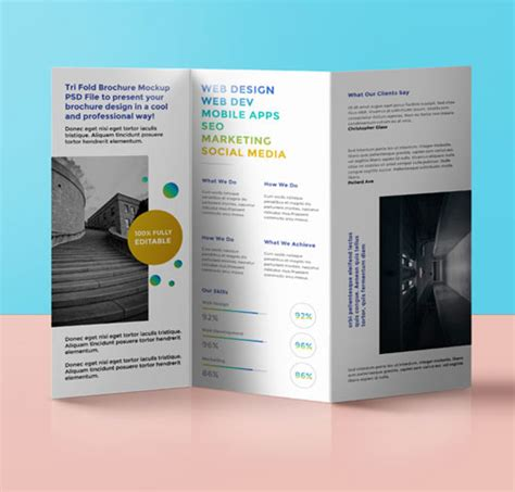 layout brochure a3 a3 folded leaflet and flyer printing