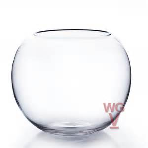 bowl glass vases and fish bowl vases by wholesale