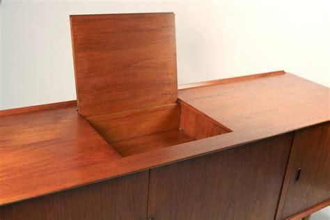 danish modern stereo cabinet arne vodder danish modern tambour door stereo or media