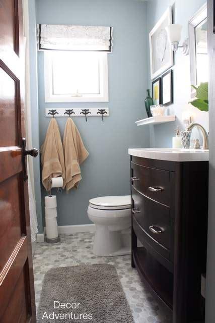 Home Depot Bathrooms Vanities Small Master Bathroom Makeover 187 Decor Adventures