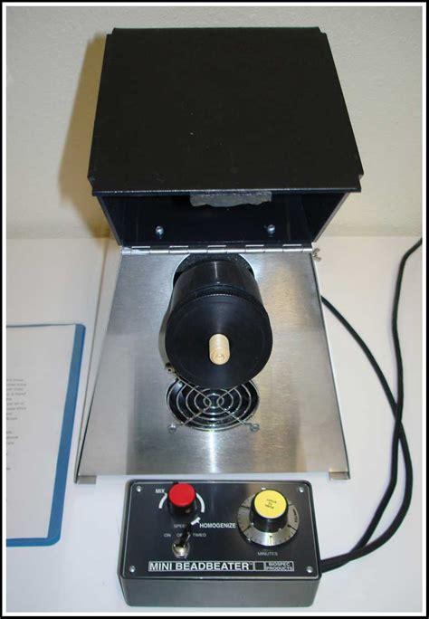 bead beater biospec mini bead beater bead homogenizer model 8 for