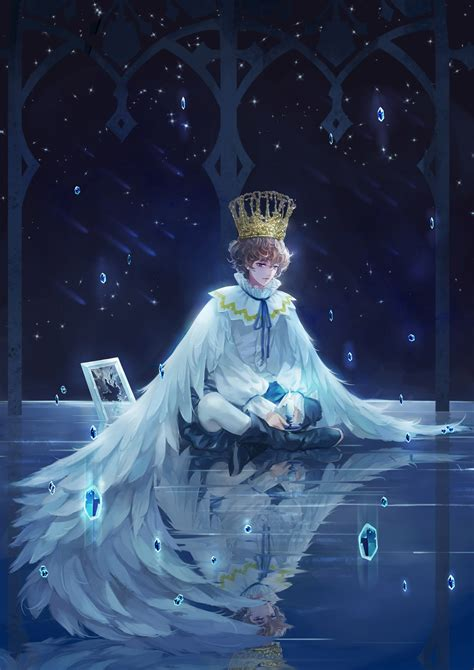 anime boy alone wallpaper boy wings alone anime wallpaper 2000x2829 666205