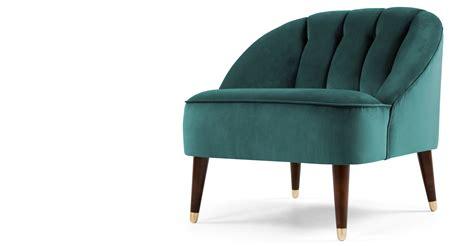 peacock blue armchair margot accent chair peacock blue velvet made com