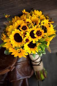 sunflower wedding bouquet beautiful sunflower bouquet pictures photos and images for and