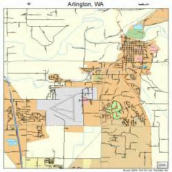 arlington map arlington washington map 5302585