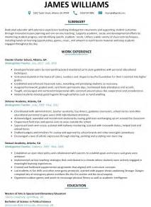 Resume Sles Kindergarten Resume Format For Kindergarten 28 Images Kindergarten Resume Sles Visualcv Resume Sles
