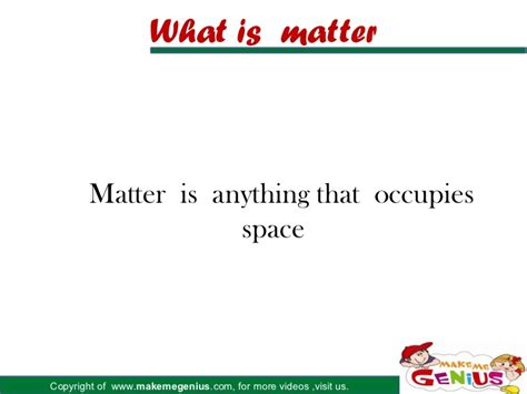 what is matter states of matter for