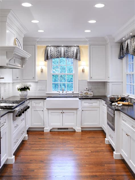 white cottage kitchen kitchen window treatments ideas hgtv pictures tips hgtv