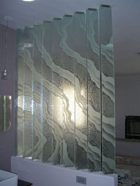 Decorative Glass Panels For Walls by Surges Partitions Pony Wall Sans Soucie
