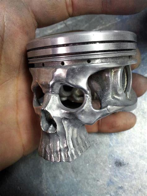 gearhead cnc art skull piston shifter cnccookbook