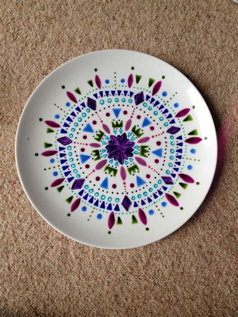 pottery design ideas 25 best hand painted plates ideas on pinterest