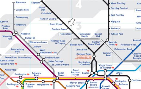 tube map 2015 northern line golders green college the area golders green college