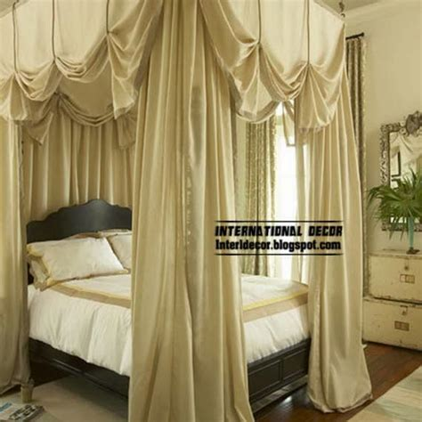 Canopy Bed Curtain | best 10 ideas to create relaxation bedroom decor