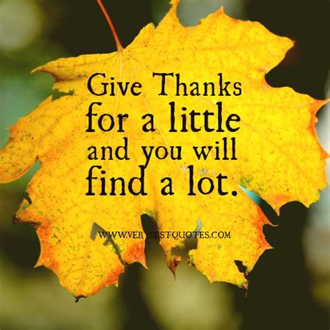 thanksgiving quotes christian thanks for a little