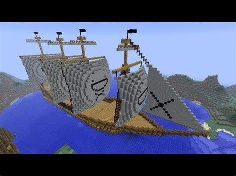 barco pirata minecraft construyendo barco quot pirata quot minecraft youtube