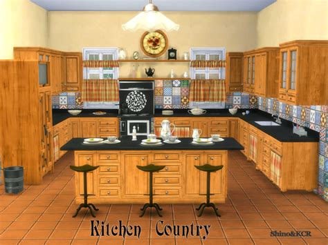 kitchen country by shinokcr at tsr 187 sims 4 updates