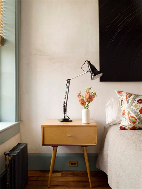 unique bedside unique bedside tables with curved leg console wall mirror