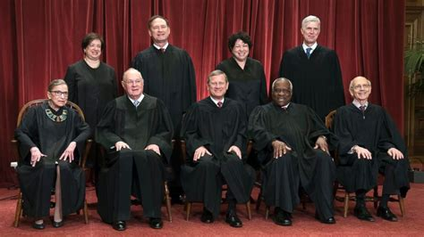 members supreme court meet the 9 sitting supreme court justices abc news