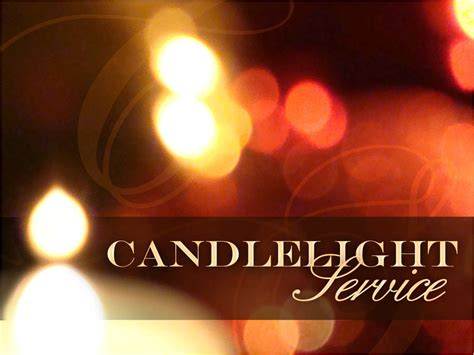 Candlelight Service Program - baptist church of pompano florida