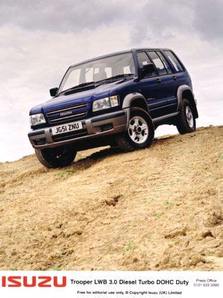 Isuzu Trooper Towing Capacity 264 Best Images About Isuzu On Cars Trucks