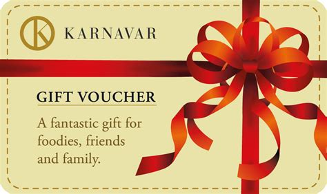 printable vouchers london restaurant gift vouchers in london karnavar restaurant