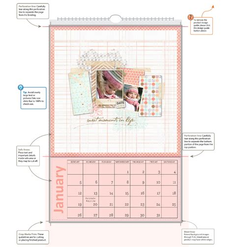 calendar design guidelines heritage makers 187 getting to know the design guide