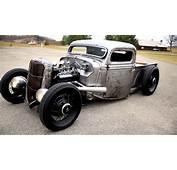 1935 1936 FORD PICKUP TRUCK SCTA BARE BONES / METAL