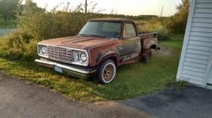 1977 Dodge D100 1977 Dodge Warlock D100 Stepside Truck For Sale Photos