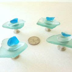 sea glass door knobs 1000 ideas about nautical drawer pulls on