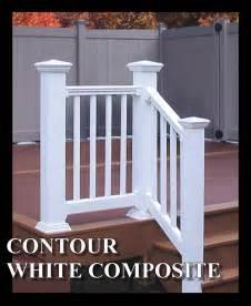 Trex Stair Railing by Composite Deck Composite Deck Stair Railing