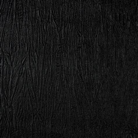 black leather material upholstery black textured upholstery faux leather by the yard