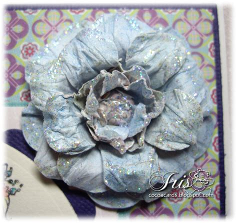 belles n whistles sts tutorial tuesday paper flower
