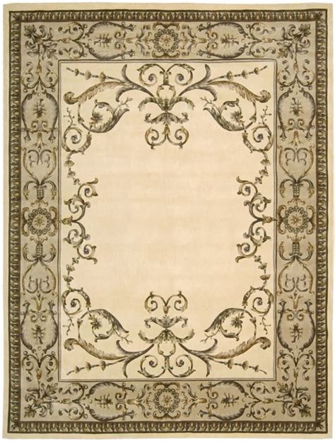 Discount Rug Outlet vp02 ivory nourison versailles palace tufted area