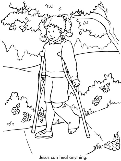 jesus can coloring page