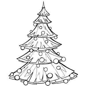 big christmas trees coloring pages big christmas tree coloring page
