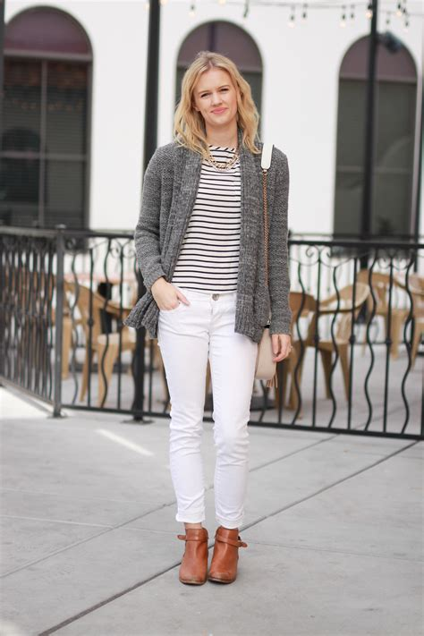 wear white jeans  winter treats  trends