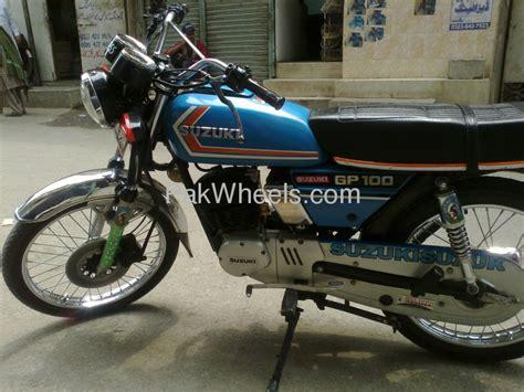 Suzuki Gs 125 For Sale Used Suzuki Gs 125 1984 Bike For Sale In Lahore 99286