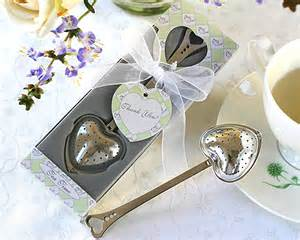 Tea Wedding Favors by Shaped Tea Infuser Wedding Favors