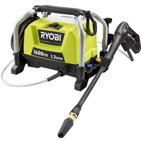 Reviews Of Kitchen Faucets by Ryobi 1 600 Psi 1 2 Gpm Electric Pressure Washer Ry141600