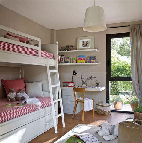 decorar habitacion infantil barato 30 habitaciones para m 225 s de dos ni 241 os con buenas ideas