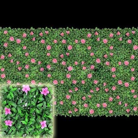 fiori finti firenze siepe artificiale piante finte caratteristiche della
