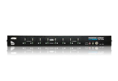 8 kvm switch usb 8 usb dvi audio kvm switch cs1768 aten rack kvm