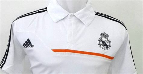 Baju Real Madrid Warna Merah jual baju polo real madrid warna putih terbaru adidas musim 2015 2016 enkosa sport