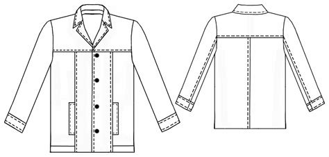 sewing pattern leather jacket leather jacket sewing pattern 6046 made to measure