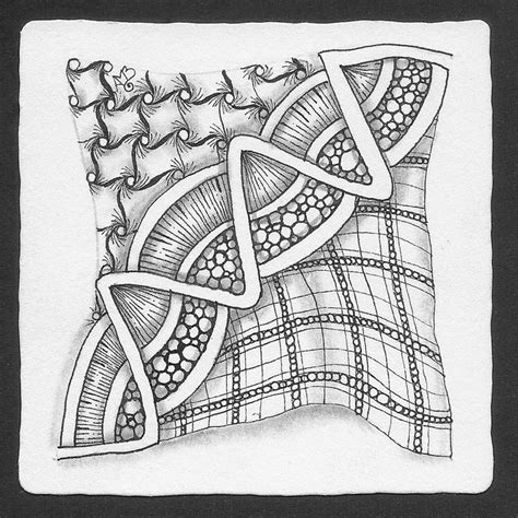 zentangle pattern cadent 17 best images about twing on pinterest studios focus