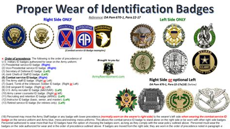guide to wearing your military medals insignia active retired army proper wear of identification