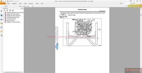 service manual pdf 2006 subaru forester engine repair subaru forester sj 2013 service manual 2013 pdf eng auto repair manual forum heavy
