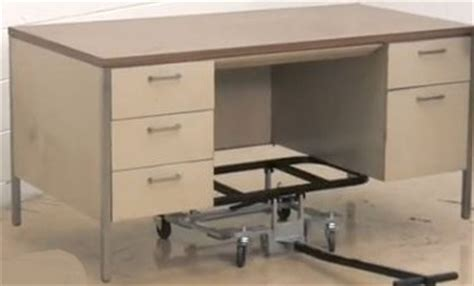 Moving Desk by Desk Mover Dolly Special Cart For Moving Desks