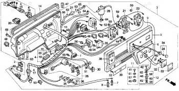 honda ex1000 generator parts diagram car interior design