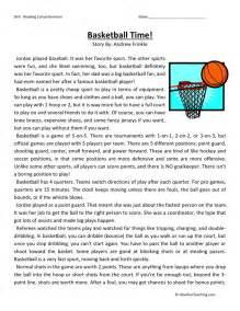 printable reading comprehension worksheets for 5th grade